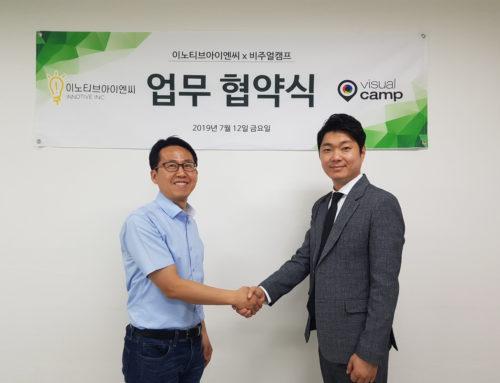 MOU with INNOTIVE INC, a shopping mall platform of Korea.