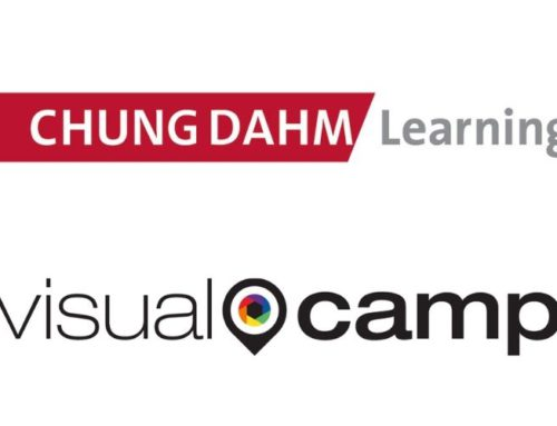 VisualCamp sign MoU with Chungdahm Learning for online remote class.