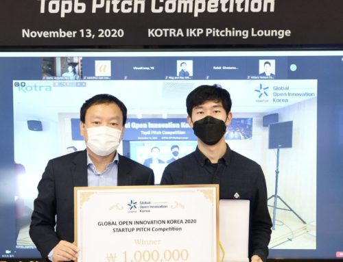 VisualCamp Won 1st prize at Global Open Innovation Korea 2020